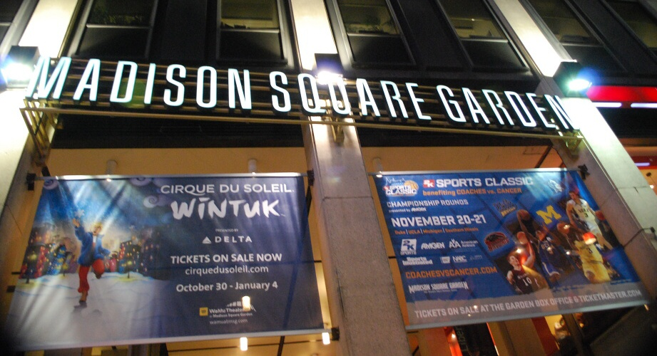 New York - Madison Square Garden